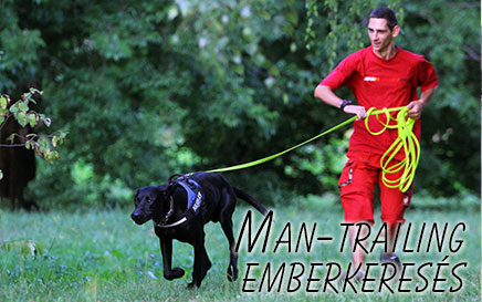 Man-trailing